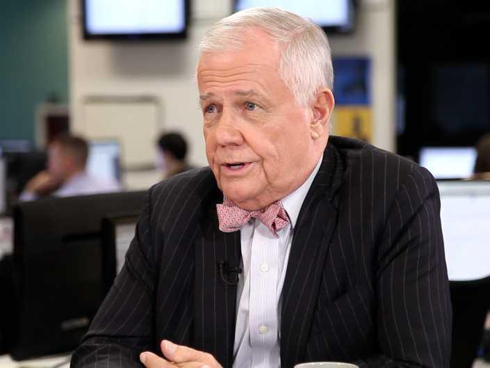Chuyên gia tài chính Jim Rogers