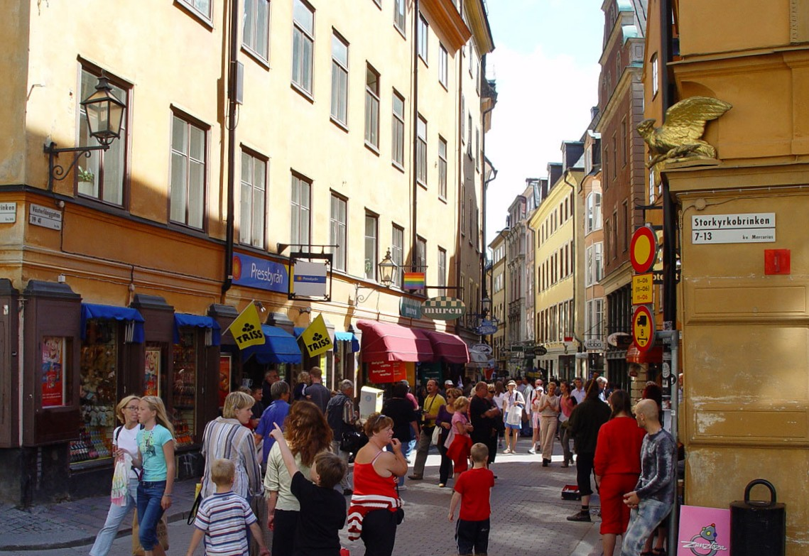 Khu phố cổ Gamla Stan