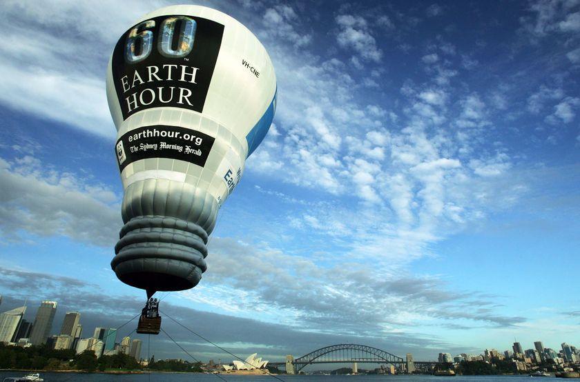 Thành phố Sydney và giờ Trái Đất