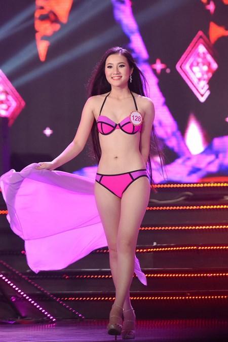 Đầu tiên là Nguyễn Hoàng Quỳnh Loan, đến từ Huế.