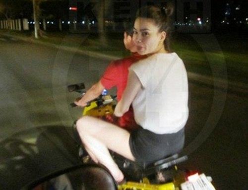 Thời còn mặn nồng, hai vợ chồng Hồ Ngọc Hà - Cường Đô la từng bị dư luận 'ném đá' khi đầu trần dạo phố bằng xe máy.