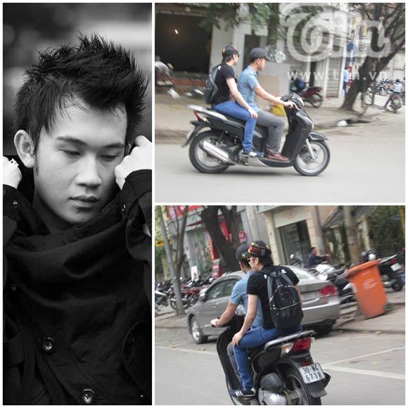 Nam ca sĩ Dương Triệu Vũ từng dạo phố Hà Nội với... mũ lưỡi trai.