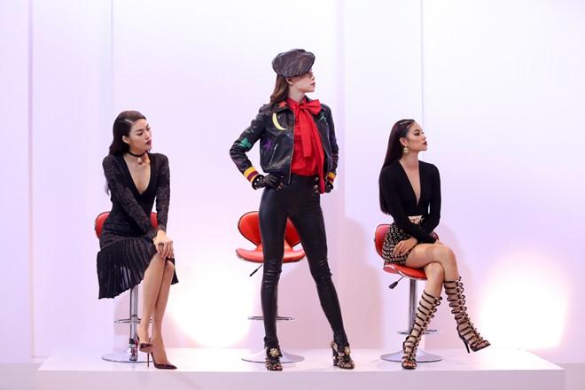 3 giám khảo trong tập 2 The Face - Gương mặt thương hiệu mùa 1.