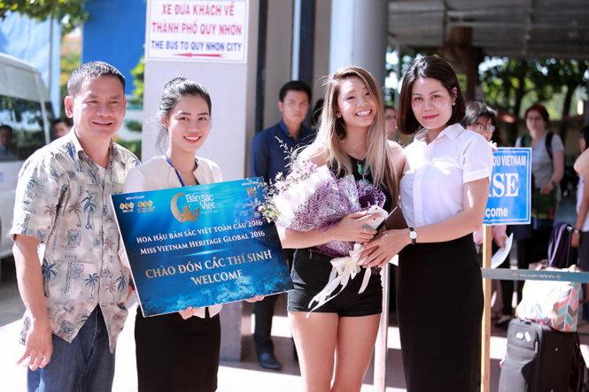 Trước đó,  14 người đẹp gốc Việt về nước thi hoa hậu Bản sắc Việt