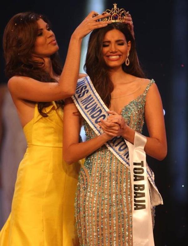 Cận cảnh nhan sắc tân Hoa hậu Thế Giới Stephanie del Valle Diaz
