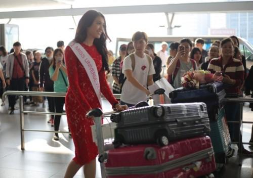 Chung kết Hoa hậu Hoàn vũ Thế giới 2016 diễn ra vào 8h sáng 30/1 (tức mùng ba Tết Âm lịch) tại Philippines.