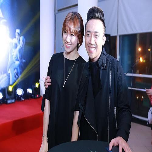 10. Trấn Thành thường xuyên có những hình ảnh thân thân thiết với Hari Won.