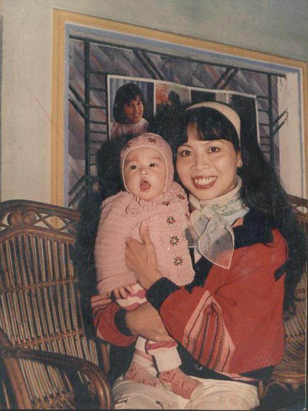 Hoàng Thùy Linh bầu bĩnh từ khi còn nhỏ.
