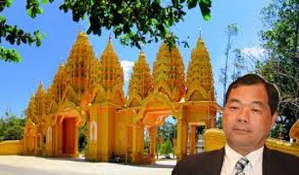 Với 'ông trùm' ngân hàng Trầm Bê, việc bỏ cả ngàn tỷ ra làm từ thiện bằng cách xây chùa, điện cũng gây được chú ý từ dư luận.