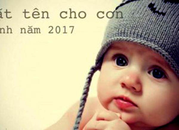 Cách đặt tên cho bé trai sinh năm Đinh Dậu 2017 hợp phong thủy  - ảnh 2