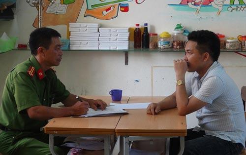 Một trong những đối tượng vừa bị bắt giữ tại tỉnh Quảng Bình vì liên quan hành vi cá độ bóng đá