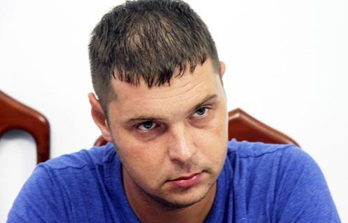 Nosov Denis tại công an