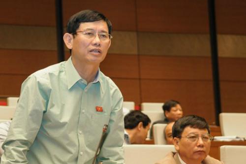 Đại biểu Nguyễn Ngọc Phương là một trong 15 ý kiến đề xuất đẩy nhanh tiến độ xây sân bay Long Thành