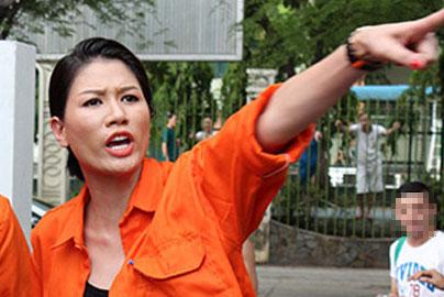 Người mẫu Trang Trần dính scandal chửi tục