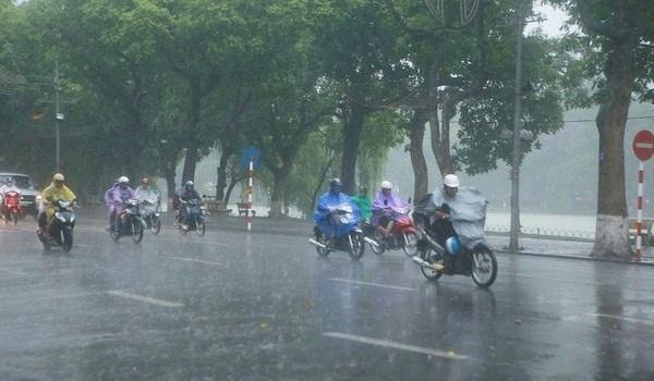 tin tức mới cập nhật hôm nay cho biết mưa dông sẽ làm dịu nắng nóng miền bắc