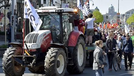 Hàng nghìn người dân các nước châu Âu đã xuống đường biểu tình