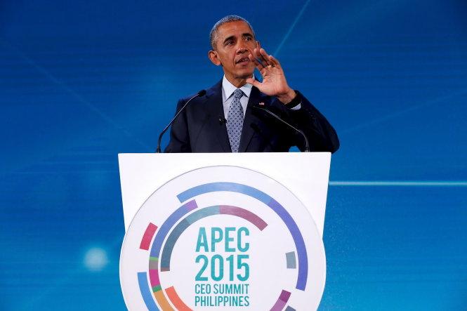 Tổng thống Mỹ Barack Obama khẳng định sẽ phủ quyết dự luật cản trở người tị nạn Syria vào Mỹ