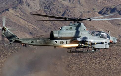 Trực thăng chiến đấu ở Afghanistan