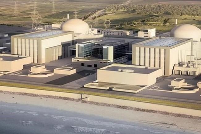 Xây dựng một nhà máy điện hạt nhân mới ở Hinkley Point