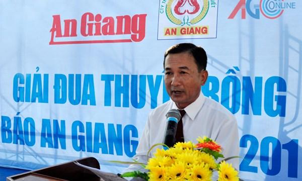 Phó chủ tịch UBND TP Châu Đốc (tỉnh An Giang) Trần Quốc Tuấn