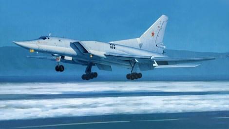 Máy bay ném bom Tu-22M phát hiện gần không phận Thụy Điển