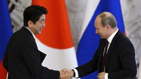 Nga và Nhật Bản tăng cường quan hệ song phương