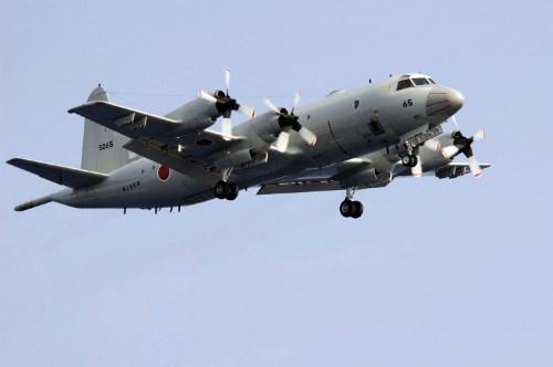 Máy bay tuần tra biển và săn ngầm P3-C Orion của Nhật Bản