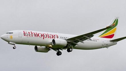Một chiếc máy bay của hãng Ethiopian