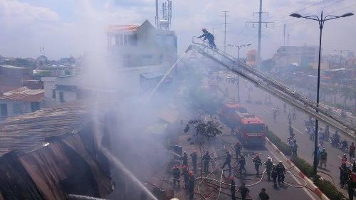 Vụ hỏa hoạn khiến người dân chịu nhiều thiệt hại
