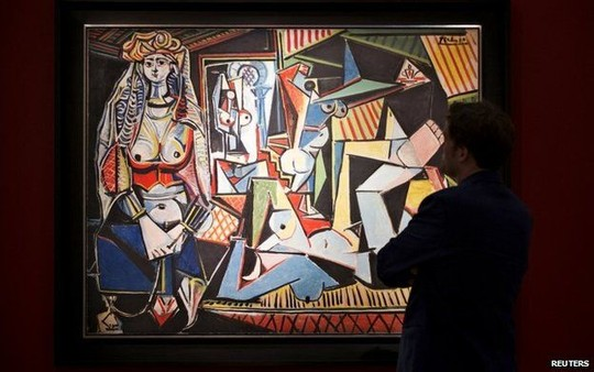 tin tức mới cập nhật, bức tranh gợi cảm của Picasso lập kỷ lục giá khủng