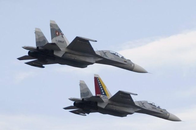 Máy bay chiến đấu Sukhoi 30 của Venezuela
