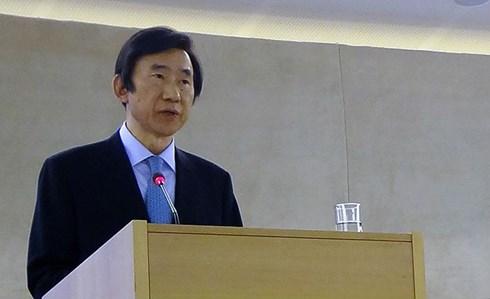 Bộ trưởng Ngoại giao Hàn Quốc Yun Byung-se