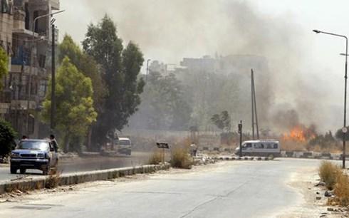 Một vụ đánh bom tại thủ đô Damascus