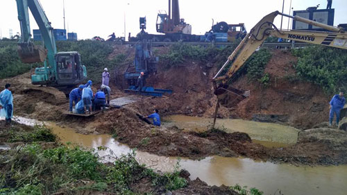Tin tức mới cập nhật trong nước, đường ống nước sông Đà gặp sự cố lần thứ 12