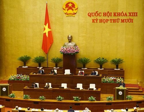 Theo tin tức mới cập nhật trong nước, Quốc hội sẽ nghe báo cáo về công tác phòng chống tham nhũng trong tuần làm việc thứ 2