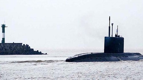Tàu 185- Đà Nẵng thực hiện thử nghiệm trên biển