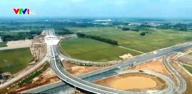 Chiều dài hoàn thành của con đường cao tốc tuyến Hà Nội - Hải Phòng được nâng lên 75 km