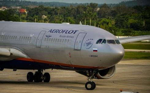 Theo tin tức mới cập nhật quốc tế, Ukraine vừa thông báo cấm các chuyến bay của hãng Aeroflot Nga được bay qua không phận