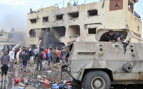 Một vụ nổ bom ở Ai Cập
