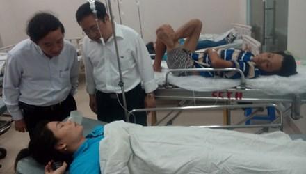 tin tức mới cập nhật cho biết 60 công nhân co giật nhập viện vì rò rỉ khí ga