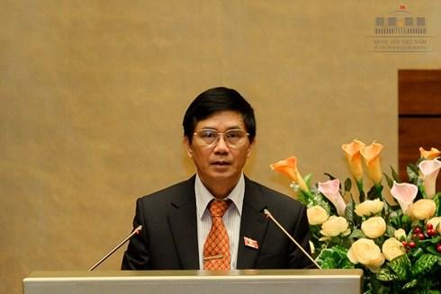 Chủ nhiệm Uỷ ban Tư pháp Nguyễn Văn Hiện