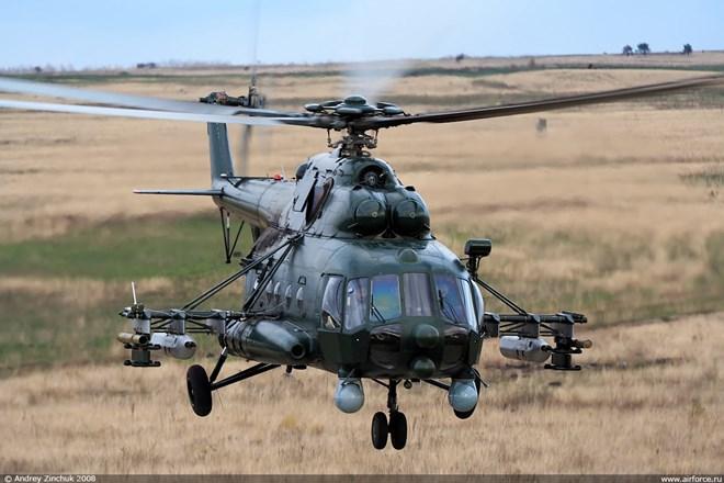 Một chiếc trực thăng Mi-8