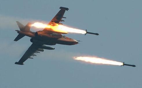 Máy bay Nga triển khai tấn công