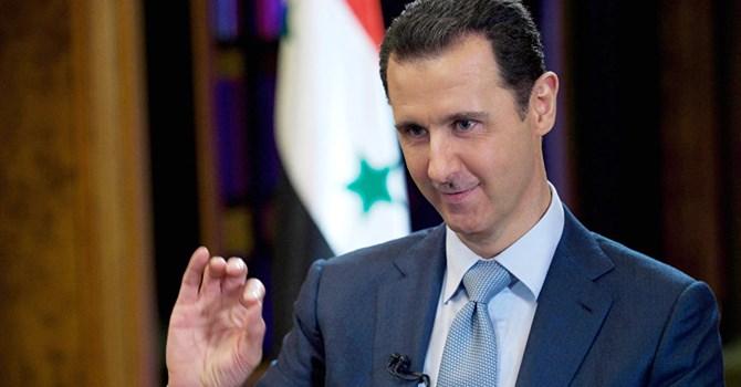 Tổng thống Syria Bashar al-Assad. Ảnh AP