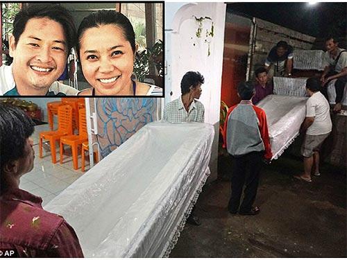 9 người nước ngoài bị xử tử tại Indonesia, trong đó có 1 người Úc vừa kết hôn