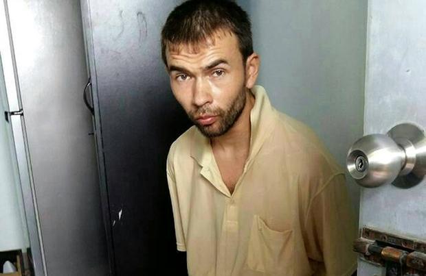 Nghi phạm có tên Adem Karadag bị bắt tại một căn hộ ở ngoại ô Bangkok