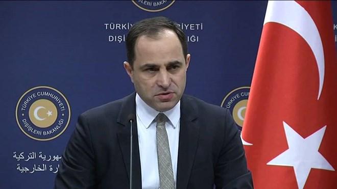 Người phát ngôn Bộ Ngoại giao Thổ Nhĩ Kỳ Tanju Bilgic