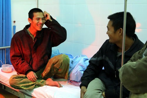 tin tức mới cập nhật: Các nạn nhân hiện được gia đình và bệnh viện chăm sóc tận tình