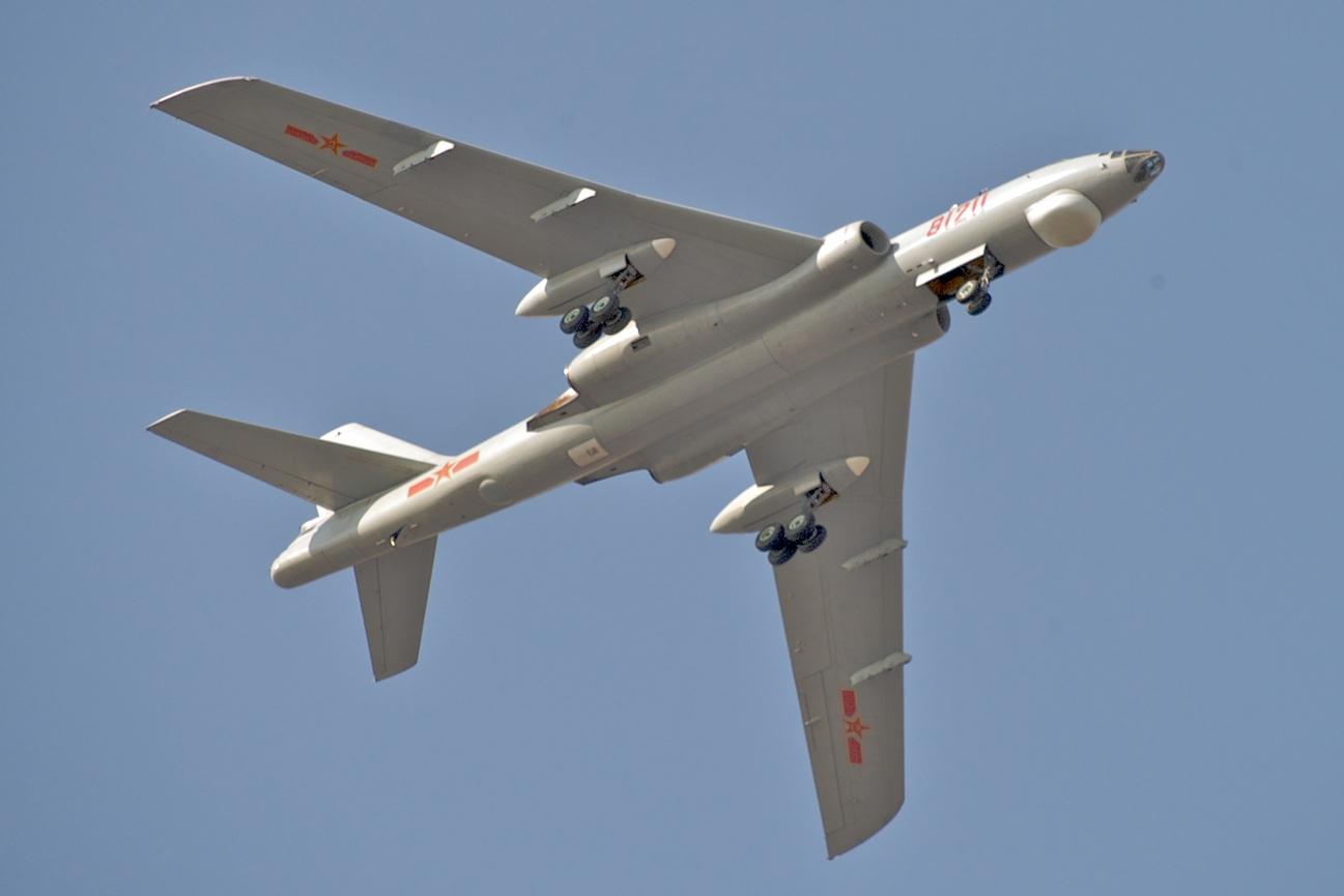 Máy bay ném bom H-6 của không lực Trung Quốc