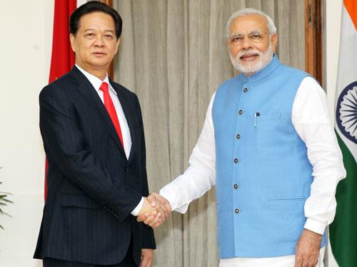 Thủ tướng Nguyễn Tấn Dũng và Thủ tướng Ấn Độ